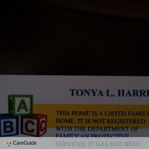 Child Care Provider Tonya Harris's Profile Picture