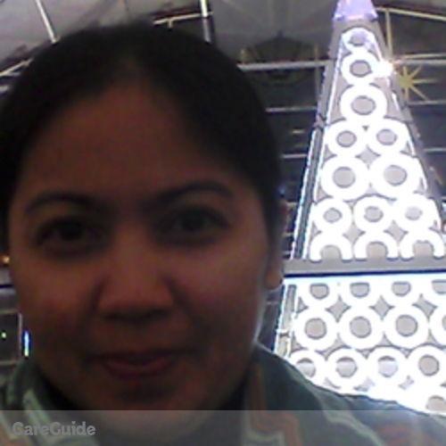 Canadian Nanny Provider Maria Remedios G's Profile Picture