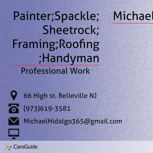 Painter Provider Michael Hidalgo's Profile Picture