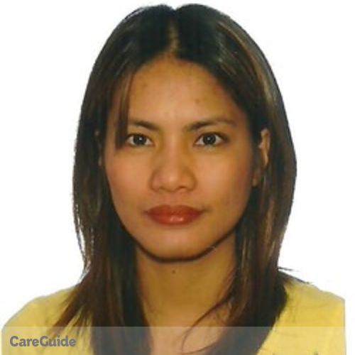 Canadian Nanny Provider Analyn Portales's Profile Picture