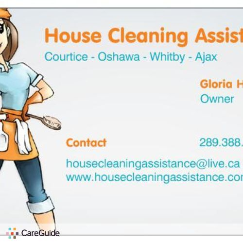 Housekeeper Provider House Cleaning Assistance - Gloria Hurley's Profile Picture