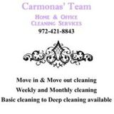 Carmonas' Team home and office cleaning services