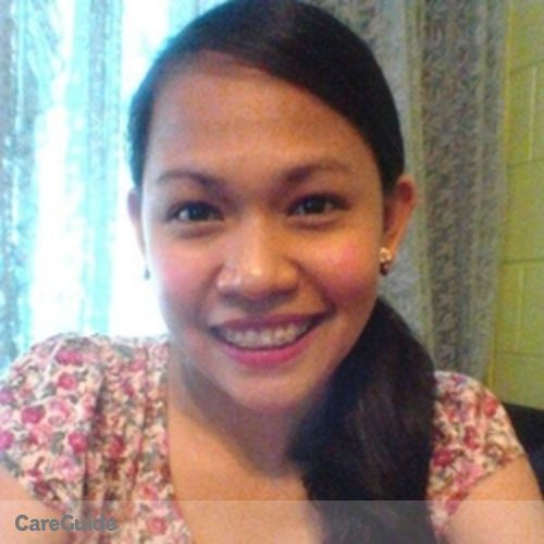Canadian Nanny Provider Liezel Morales's Profile Picture