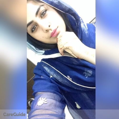 Canadian Nanny Provider Rabia Afzaal's Profile Picture