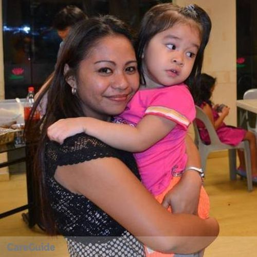 Canadian Nanny Provider Christine Joy Lim's Profile Picture