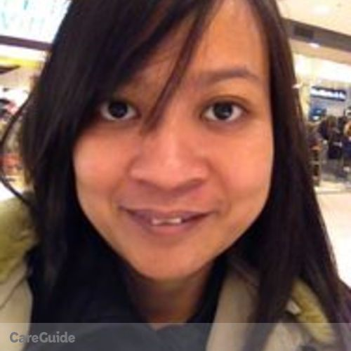 Canadian Nanny Provider Katrina Evangelista's Profile Picture