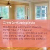 Xtremecare cleaning service Residential and commercial cleaning and move outs and move in.