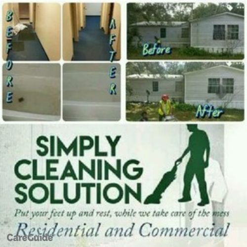 Housekeeper Provider Simply Cleaning Solutions's Profile Picture