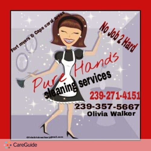 Housekeeper Provider Olivia Walker's Profile Picture