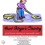 Aunt Ginger's Cleaning - Free Estimates with Reasonable Rates