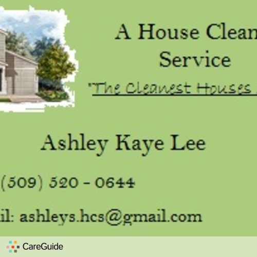 Housekeeper Provider Ashley Kaye Lee's Profile Picture