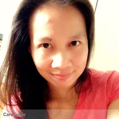Canadian Nanny Provider Claire Adeline Agustin's Profile Picture