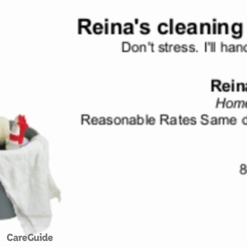 Housekeeper Provider Reina G's Profile Picture