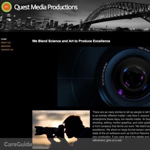 Videographer Provider David Dickson's Profile Picture