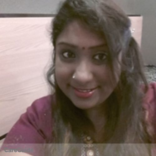 Canadian Nanny Provider Sri Vanitha's Profile Picture
