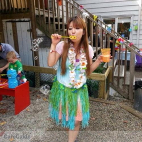 Canadian Nanny Provider Noriko Mociduki's Profile Picture