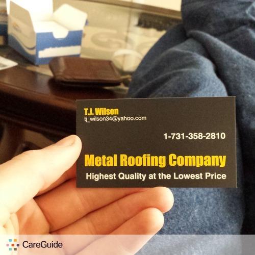 Roofer Provider Tj W's Profile Picture