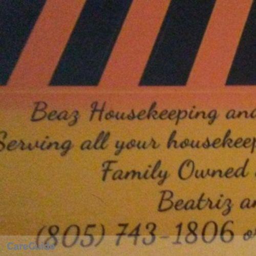 Housekeeper Provider Beatriz C's Profile Picture