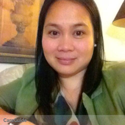 Canadian Nanny Provider Maria shiela C's Profile Picture