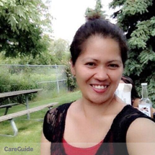 Canadian Nanny Provider Ma. Theresa A's Profile Picture