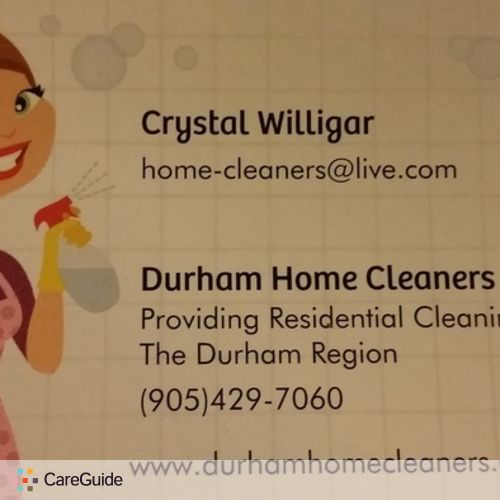 Housekeeper Provider Crystal W's Profile Picture