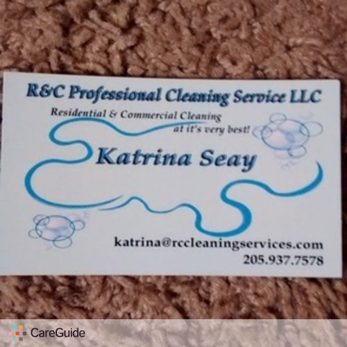 Housekeeper Provider Katrina S's Profile Picture