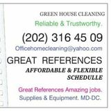 Housekeeper, House Sitter in Washington
