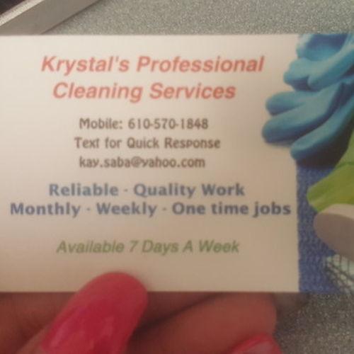 Housekeeper Provider Krystal S Gallery Image 1