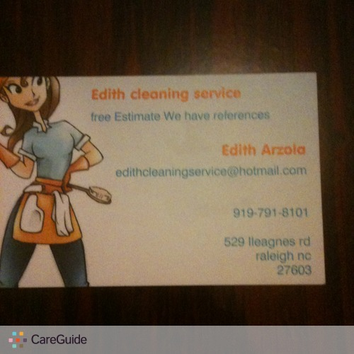 Housekeeper Provider edith arzola's Profile Picture