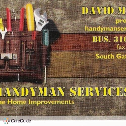 Handyman Provider David Machuca's Profile Picture