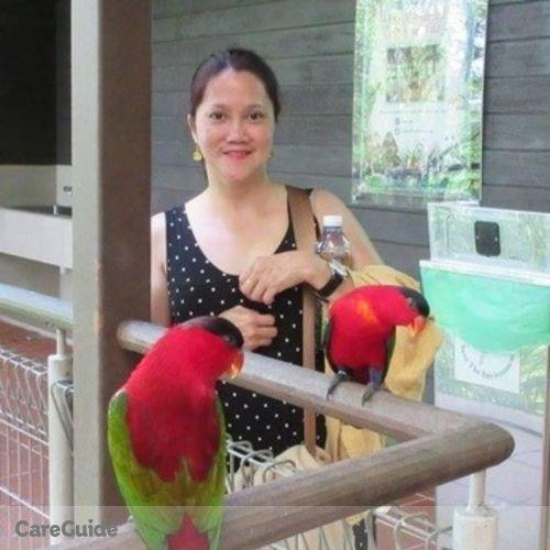Canadian Nanny Provider Maria Sheila Y's Profile Picture