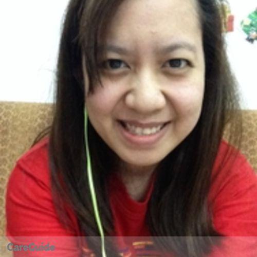 Canadian Nanny Provider Pia Elena Calara's Profile Picture