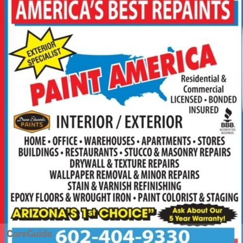 Painter Provider Paint America's Profile Picture